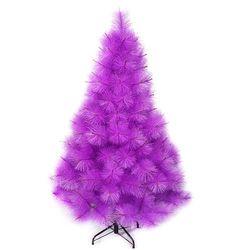 台灣製10尺/10呎(300cm)特級紫色松針葉聖誕樹裸樹 (不含飾品)(不含燈)