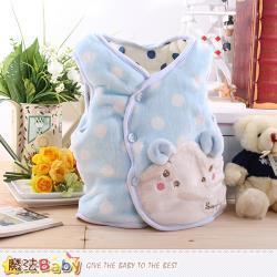 魔法Baby 寶寶外套 專櫃款絲絨極暖厚鋪棉心外套~k60053