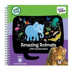 美國【LeapFrog 跳跳蛙】LeapStart Sr.全英兒童學習書籍 兒童3- 世界動物真奇妙