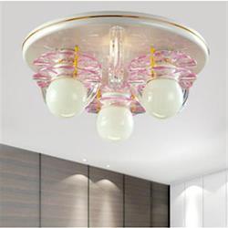 【光的魔法師 Magic Light】粉紅花片系列 --粉紅花片吸頂三燈 JC-9104-3