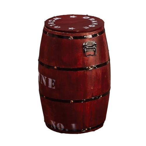 Boden-特色木桶收納椅凳(四色可選)