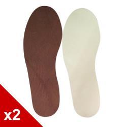 ○糊塗鞋匠○ 優質鞋材 C26 台灣製造 3mm乳膠豚皮鞋墊 (2雙/組)