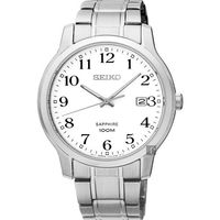 SEIKO精工 CS系列城市戀人腕錶-白/ 41mm 7N42-0GE0X(SGEH67P1)