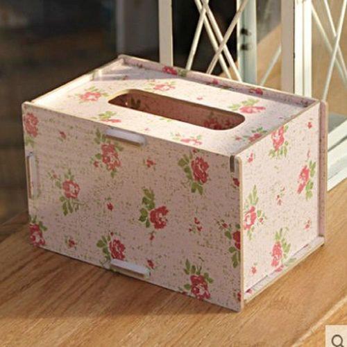 [協貿國際] 木質桌面餐巾紙收納盒