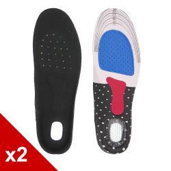 ○糊塗鞋匠○ 優質鞋材 C50 EVA減壓運動鞋墊 (2雙/組)