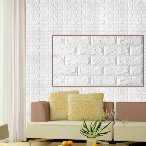 3D立體DIY仿磚紋壁貼(大尺寸77*70cm)