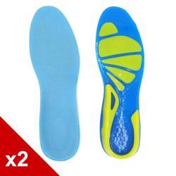 ○糊塗鞋匠○ 優質鞋材 C104 GEL減壓運動鞋墊 (2雙/組)