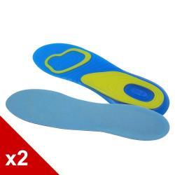 ○糊塗鞋匠○ 優質鞋材 C102 GEL凝膠運動鞋墊 (2雙/組)