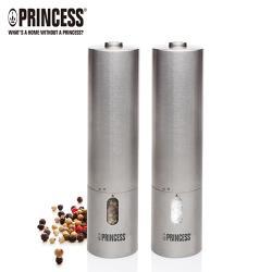 PRINCESS荷蘭公主不鏽鋼電動椒鹽罐組493000(1組/2入)
