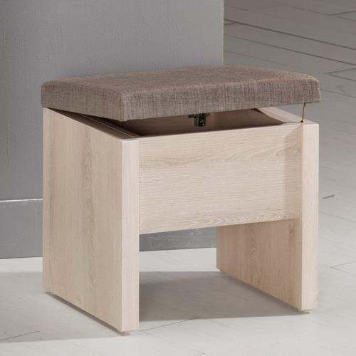 Boden-艾奇收納化妝椅/單椅