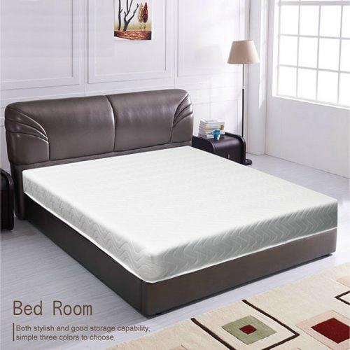 《新之森林》高碳鋼舒坦睡彈簧雙人床墊-雙人5x6.2尺/