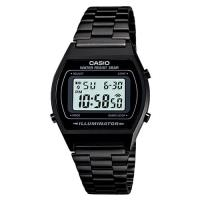 【CASIO】 大錶面簡約酒桶型數位錶-沉穩黑 (B-640WB-1A)