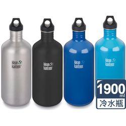 美國Klean Kanteen 窄口經典不鏽鋼冷水瓶(1900ml)