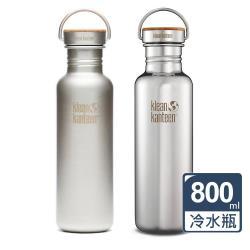 美國Klean Kanteen 竹片鋼蓋冷水瓶(800ml)