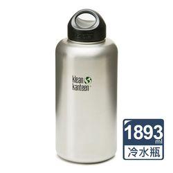 美國Klean Kanteen 寬口冷水瓶1893ml