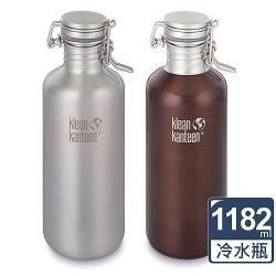美國Klean Kanteen 快扣鋼蓋冷水瓶1182ml