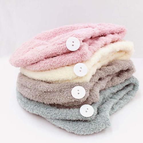 【將將好收納】 雅絨.柔舒護髮浴帽
